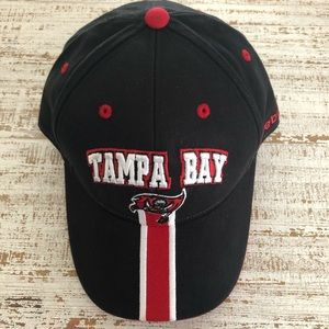Adjustable Black Tampa Bay Buccaneers Hat